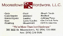 Here's my local hardware store.  Check it out.