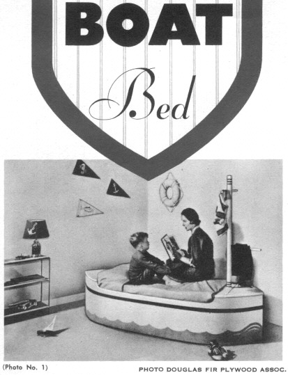 Children Boat Bed plans
