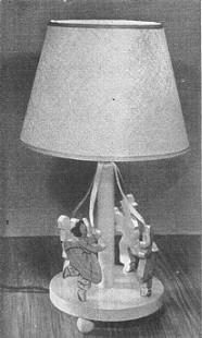 Free Maypole Lamp Plan